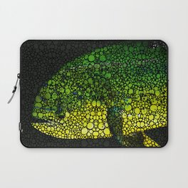 Dolphin Fish Art by Sharon Cummings Laptop Sleeve