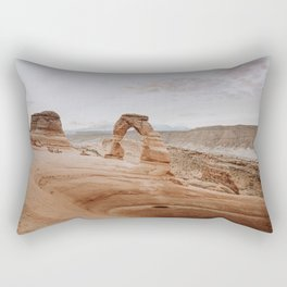 Delicate Arch / Arches National Park, Utah Rectangular Pillow