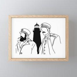 The Lighthouse Framed Mini Art Print