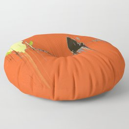 Abstracts Tango Bold Pattern Modern Art - Corbin Henry Floor Pillow
