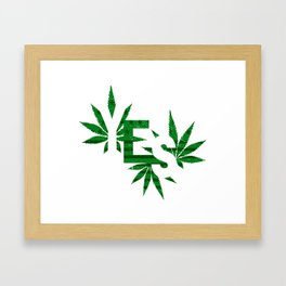 Yes to Cannabis Legalization Framed Art Print