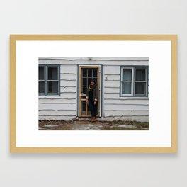 Catskills Cabin Framed Art Print