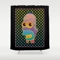 Stay Sparkly Shower Curtain