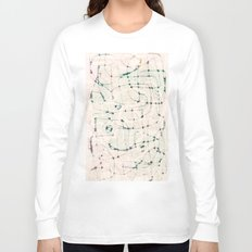 maze with eyes Long Sleeve T-shirt