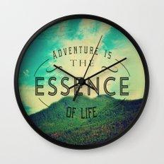 Essence Of Life  Wall Clock