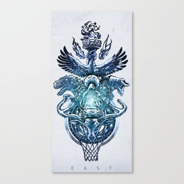 NBA Eastern Conference Canvas Print