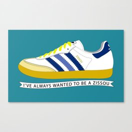 I've Always Wanted to be a Zissou - The Life Aquatic Canvas Print
