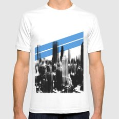 Tripping London. Mens Fitted Tee MEDIUM White