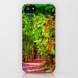 Walk on the Wild Side iPhone Case