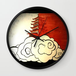 Two Realms Wall Clock