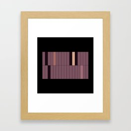 blank no.1 Framed Art Print