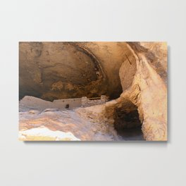 Ancient Pueblo - Gila Cliff Dwellings Metal Print