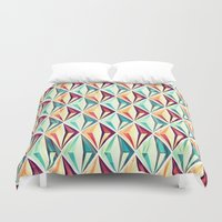 diamonds Duvet Covers featuring Diamonds by VessDSign