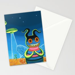 bee movie technicolor Stationery Cards