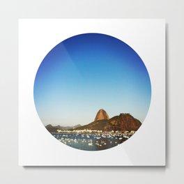RIO - SUGAR LOAF Metal Print