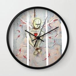 Untitled triptych Wall Clock