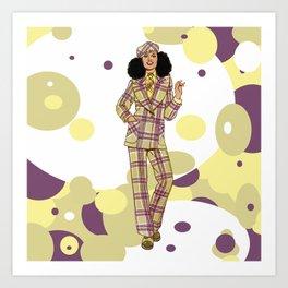 Wool Suit Art Print