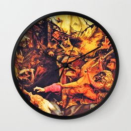 The creatures that haunt Wall Clock