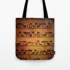 African Animal Pattern Tote Bag