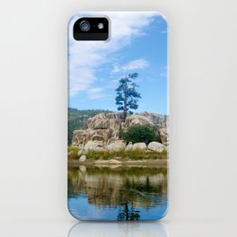 Big Bear Lake Landscape iPhone Case