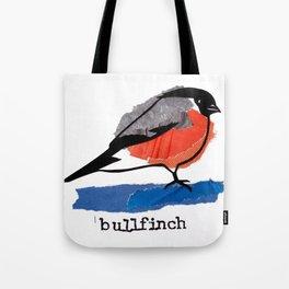 Bullfinch Tote Bag