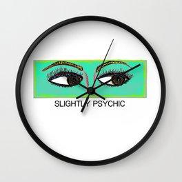 Slightly Psychic Wall Clock