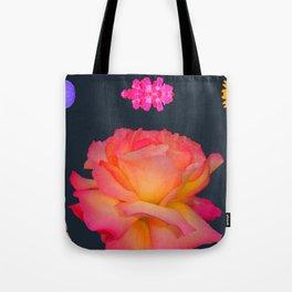 Glowing Flower Tote Bag