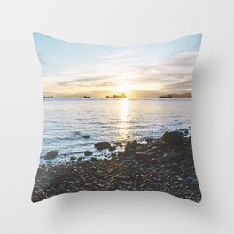 Stanley Park Throw Pillow