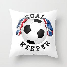 Goalkeeper,football,soccer Throw Pillow