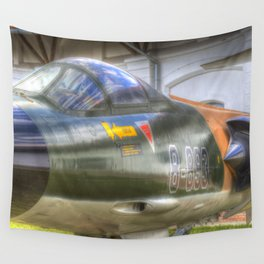 Turkish Air Force F104G Starfighter Wall Tapestry