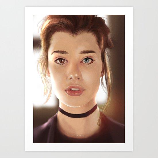 Sarah Mc Daniel - Portrait Art Print