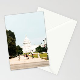 Capitol Building in the Summertime Stationery Cards