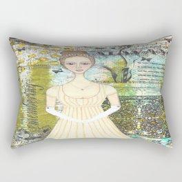 Elizabeth Bennet Rectangular Pillow