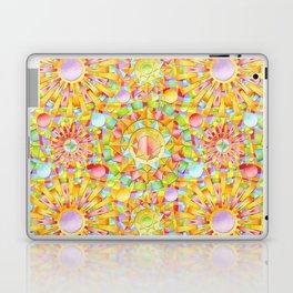 Circus Rainbow Mandala Laptop & iPad Skin