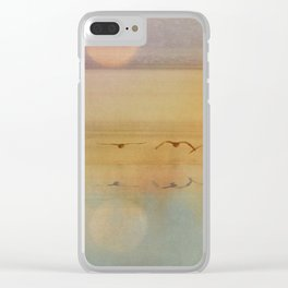 In The Misty Moonlight Clear iPhone Case