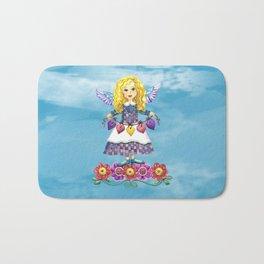 Angel Love (Turquoise) Bath Mat