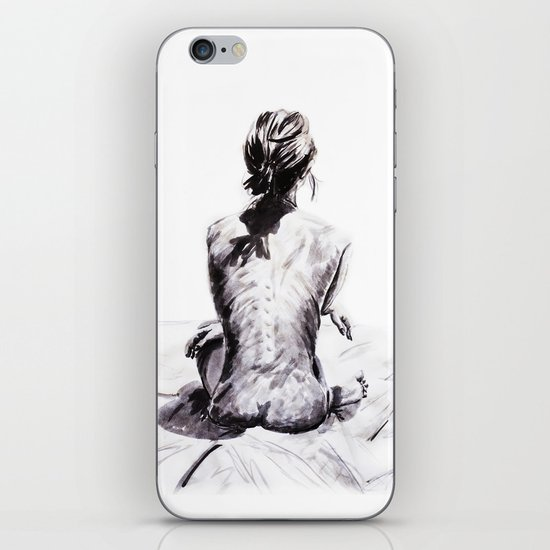 Back and Shadow Study iPhone & iPod Skin