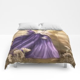 Pregnant Fairy Comforters
