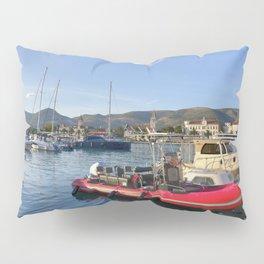 Trogir Red Boat Vista  Pillow Sham