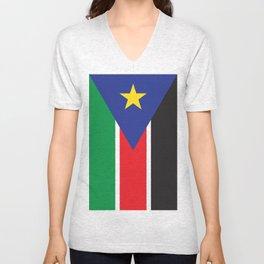South Sudan Unisex V-Neck