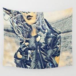 Punk Rocker Wall Tapestry