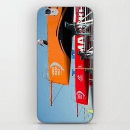 Ocean race sky iPhone Skin
