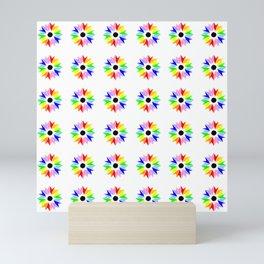 symmetric patterns 115 multicolor Mini Art Print