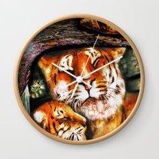PERSIAN TIGER Wall Clock