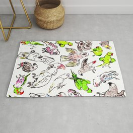 All the Birds! Rug