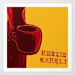 public market Art Print