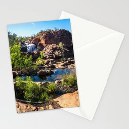 Panoramic view at Edith Falls, Katherine, Australia Stationery Cards