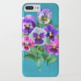 Bouquet of violets I iPhone Case