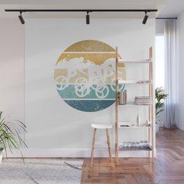 Retro Vintage Cyclosportive Gran Fondo Wall Mural