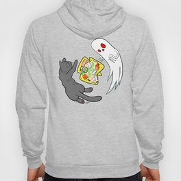 Nachos, Cats, and Ghosts Hoody